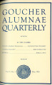 Goucher Alumnae Quarterly (V. 005, no. 3) May 1926