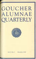 Goucher Alumnae Quarterly (V. 005, no. 4) December 1926