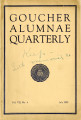 Goucher Alumnae Quarterly (V. 007, no. 4) July 1929