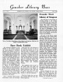 V. 07 no. 1, June 1960, Goucher College Library News