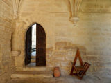 A doorway between two of the many courtyards of La Chartreuse, a medieval monastery turned...